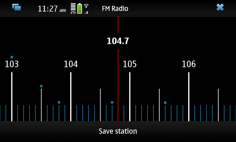 FM Radio Player Nokia N900