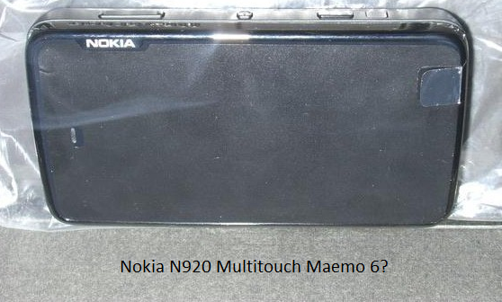 Nokia N920 Multitouch Maemo 6 Fremantle Harmattan maemo5 maemo6 multitouch n920