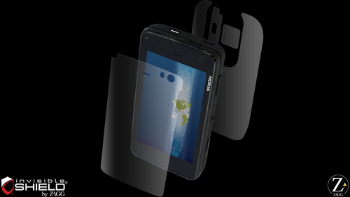 ZAGG invisibleSHIELD Full Body Shield for Nokia N900