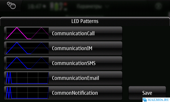 Led patterns screenshot